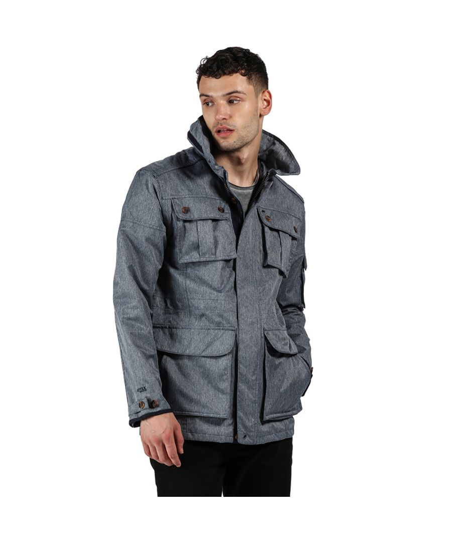 Image for Regatta Mens Elmore Waterproof Breathable Durable Jacket