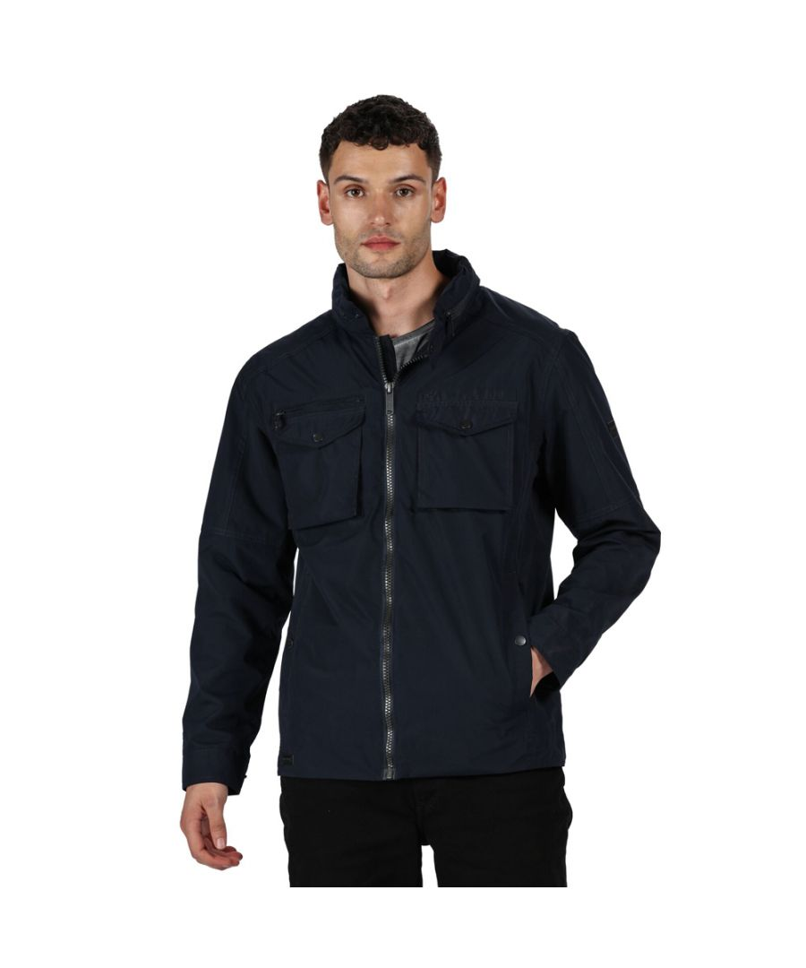 Image for Regatta Mens Haldor Waterproof Breathable Durable Jacket
