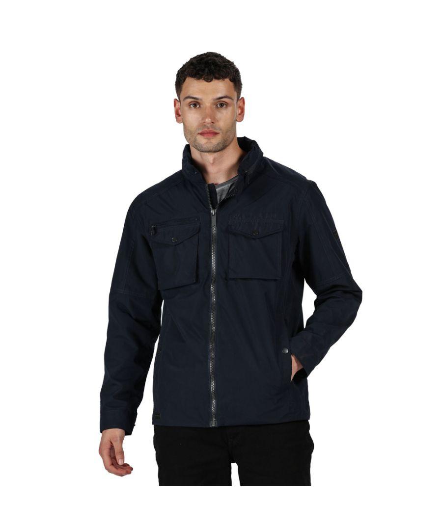 Image for Regatta Mens Haldor Waterproof Breathable Durable Jacket