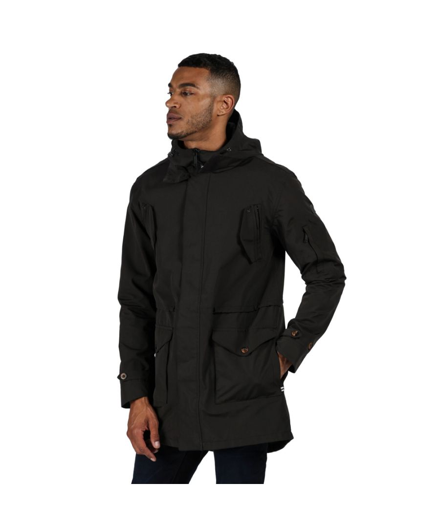 Image for Regatta Mens Macarius Waterproof Breathable Durable Jacket