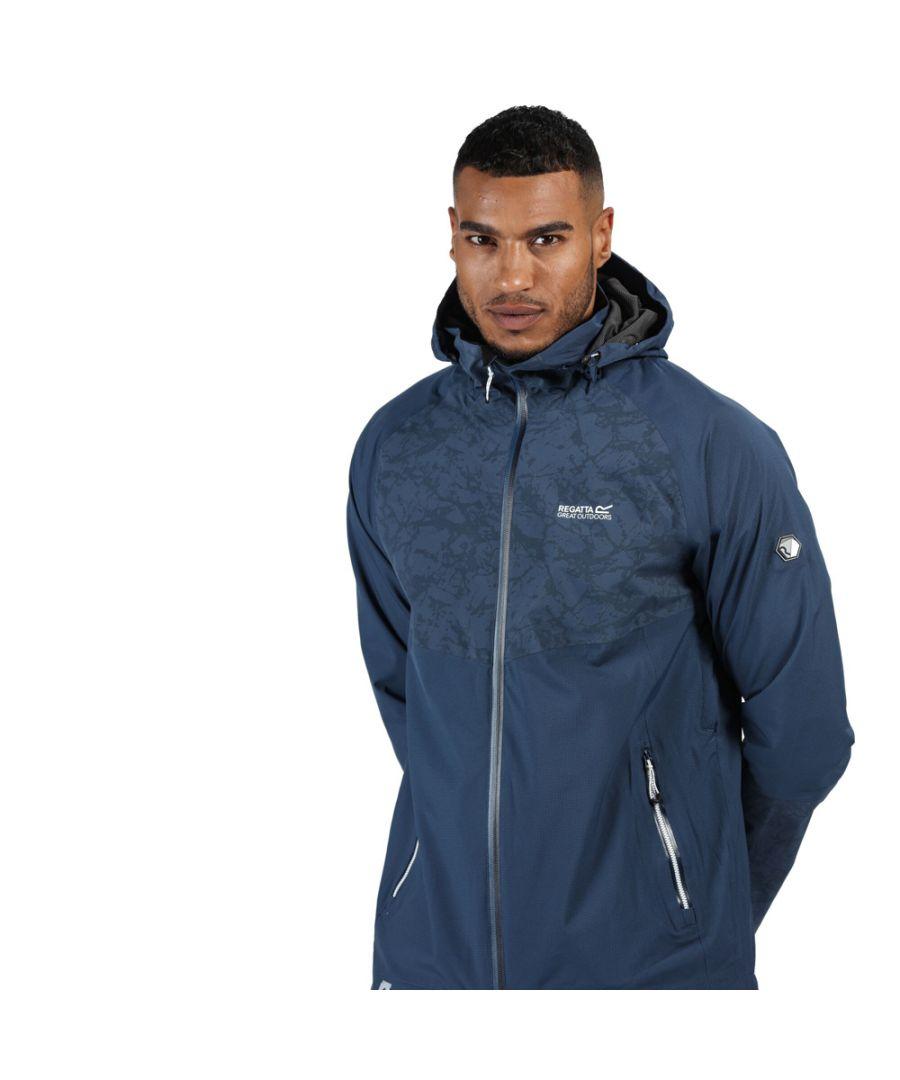 Image for Regatta Mens Oklahoma V Waterproof Durable Reflective Jacket