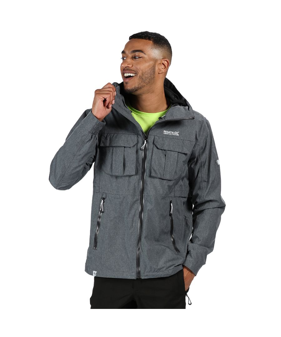 Image for Regatta Mens Centric Waterproof Breathable Durable Jacket