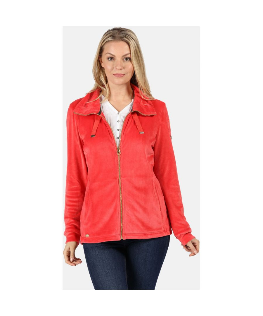 Image for Regatta Womens Odelia Cotton Outdoor Full Zip Fleece Jacket