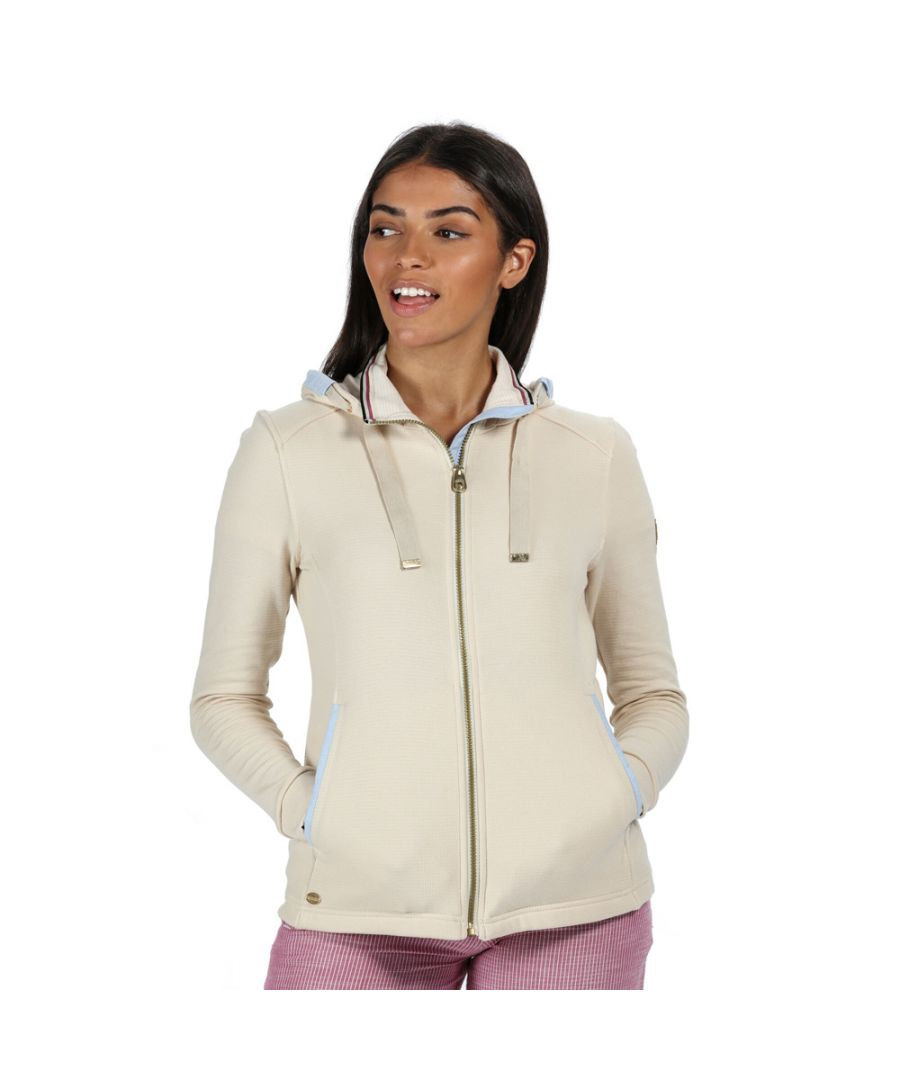 Image for Regatta Womens Ramana Ribbed Hooded Casual Hoodie Sweater