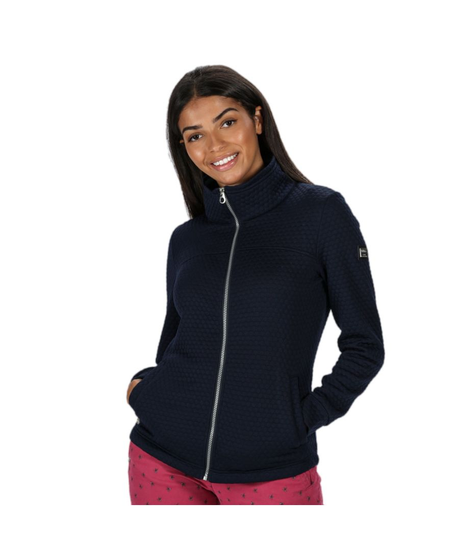 Image for Regatta Womens Sulola Quilted Full Zip Casual Fleece Jacket
