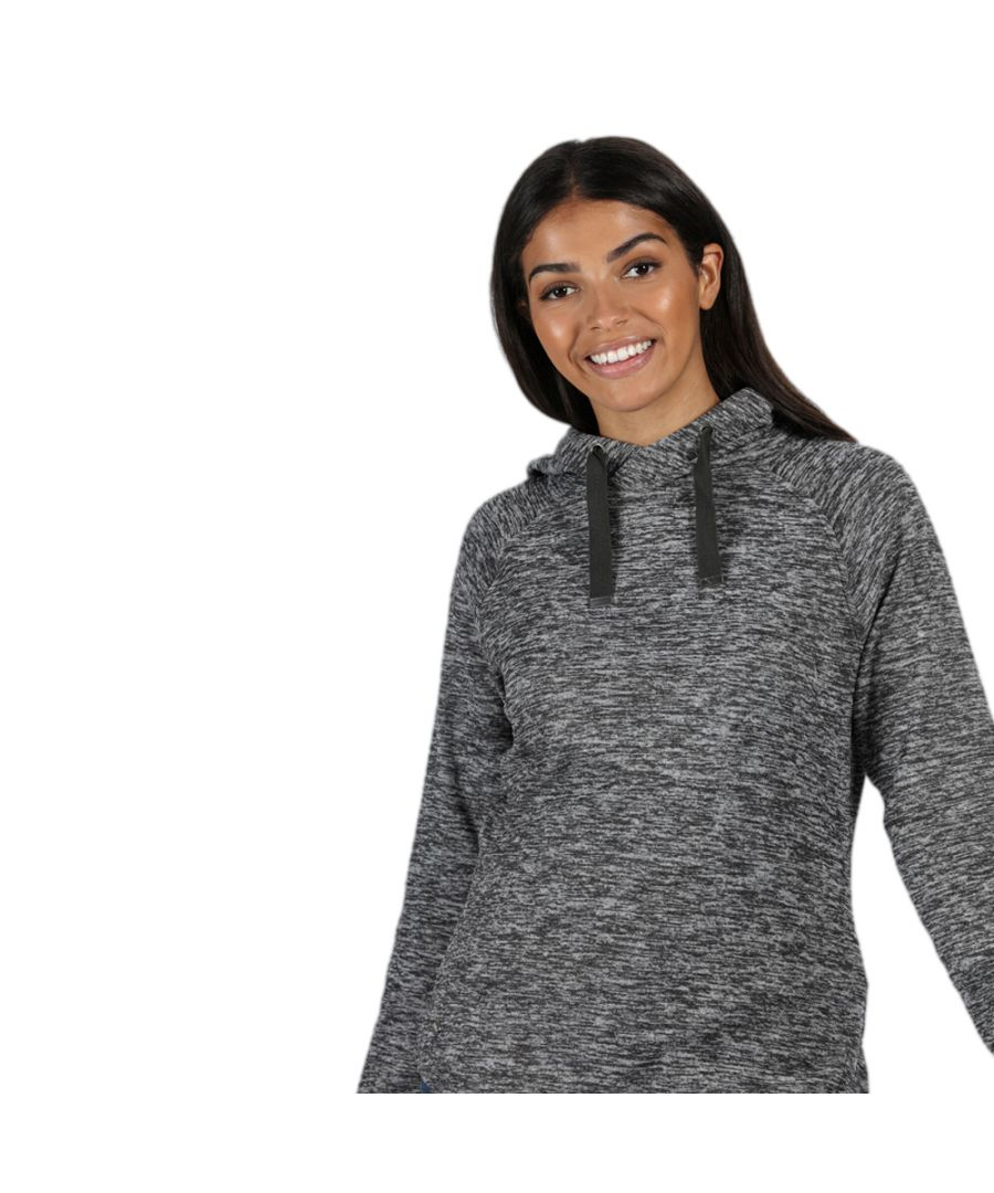 Image for Regatta Womens Callidora Marl Hooded Jumper Hoodie Sweater