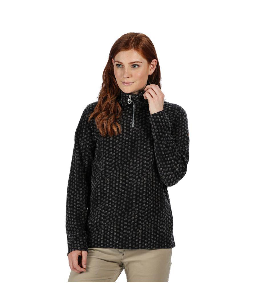 Image for Regatta Womens Leela High Neck Half Zip Casual Fleece Jacket