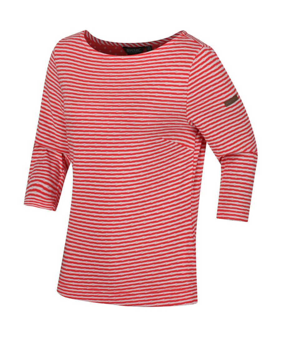 Image for Regatta Womens Helanie Round Neck Jersey T Shirt Top