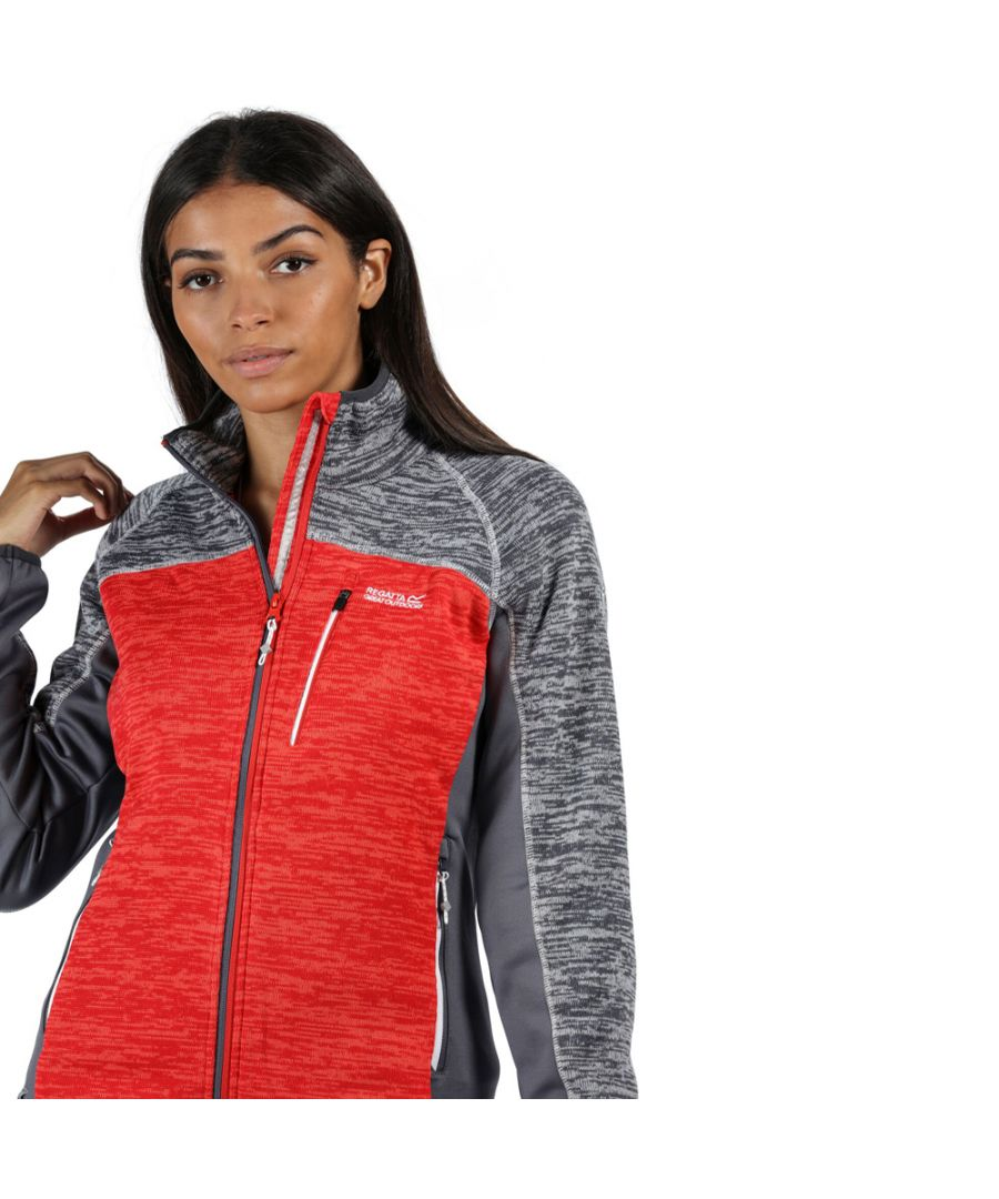 Image for Regatta Womens Laney VII Marl Knit Outdoor Fleece Jacket