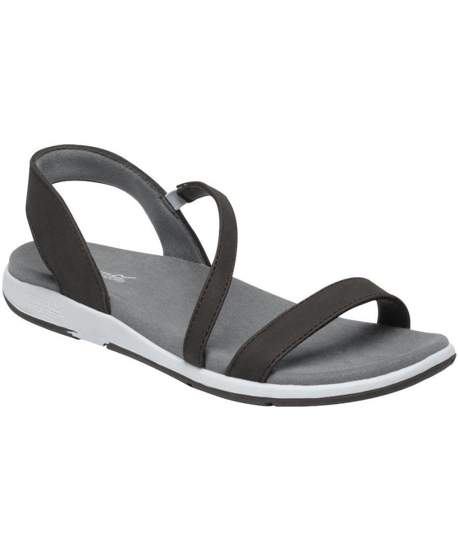 Image for Regatta Womens Santa Louisa Slingback Strappy Summer Sandals