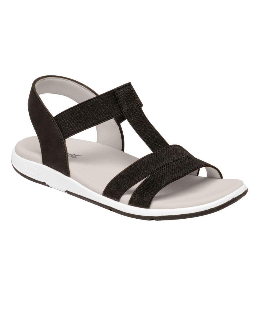 Image for Regatta Womens Santa Maria Slingback Strappy Summer Sandals