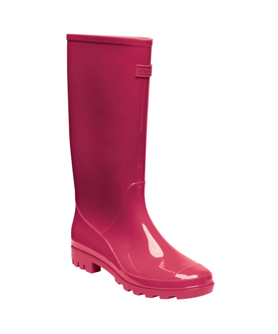 Image for Regatta Womens Wenlock PVC Waterproof Tall Wellington Boots