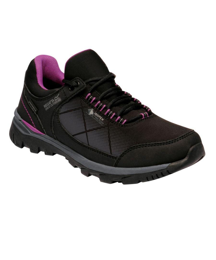 Image for Regatta Womens Highton STR Waterproof Light Walking Shoes