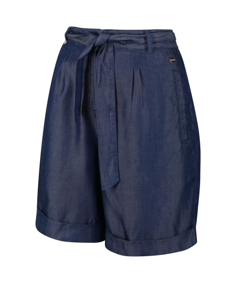 Image for Regatta Womens Samira Coolweave Cotton Casual Summer Shorts