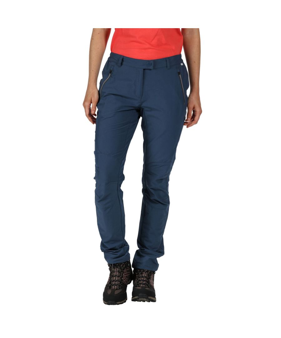 Image for Regatta Womens Highton Water Repellent Walking Trousers