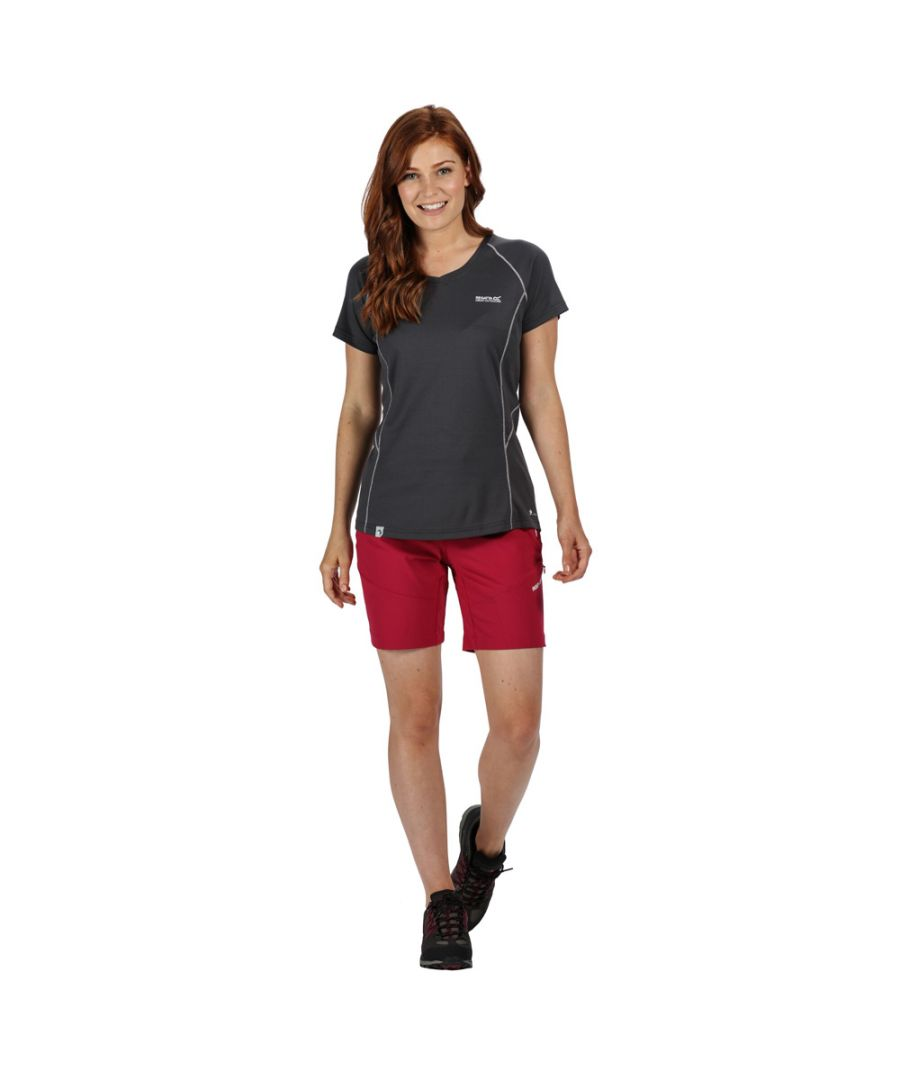 Image for Regatta Womens Mountain Active Stretch Durable Summer Shorts