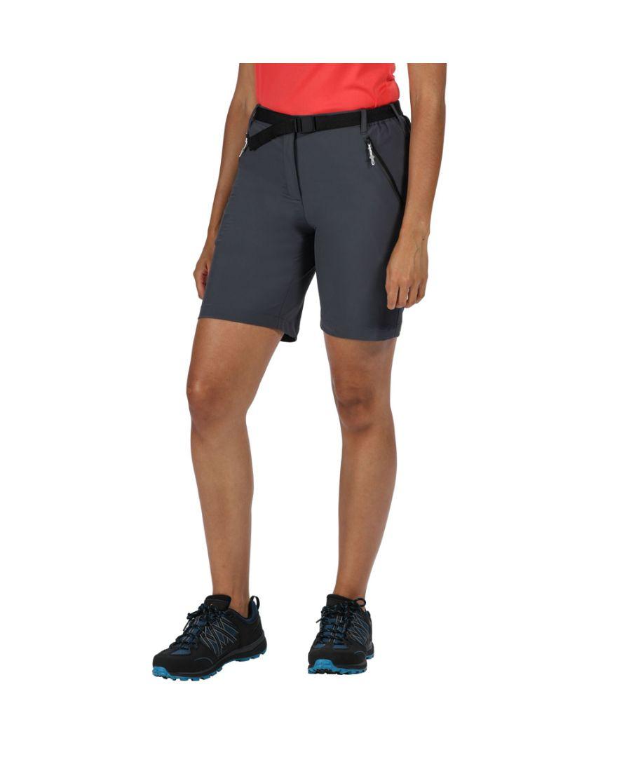 Image for Regatta Womens Xert Stretch III Durable Summer Active Shorts