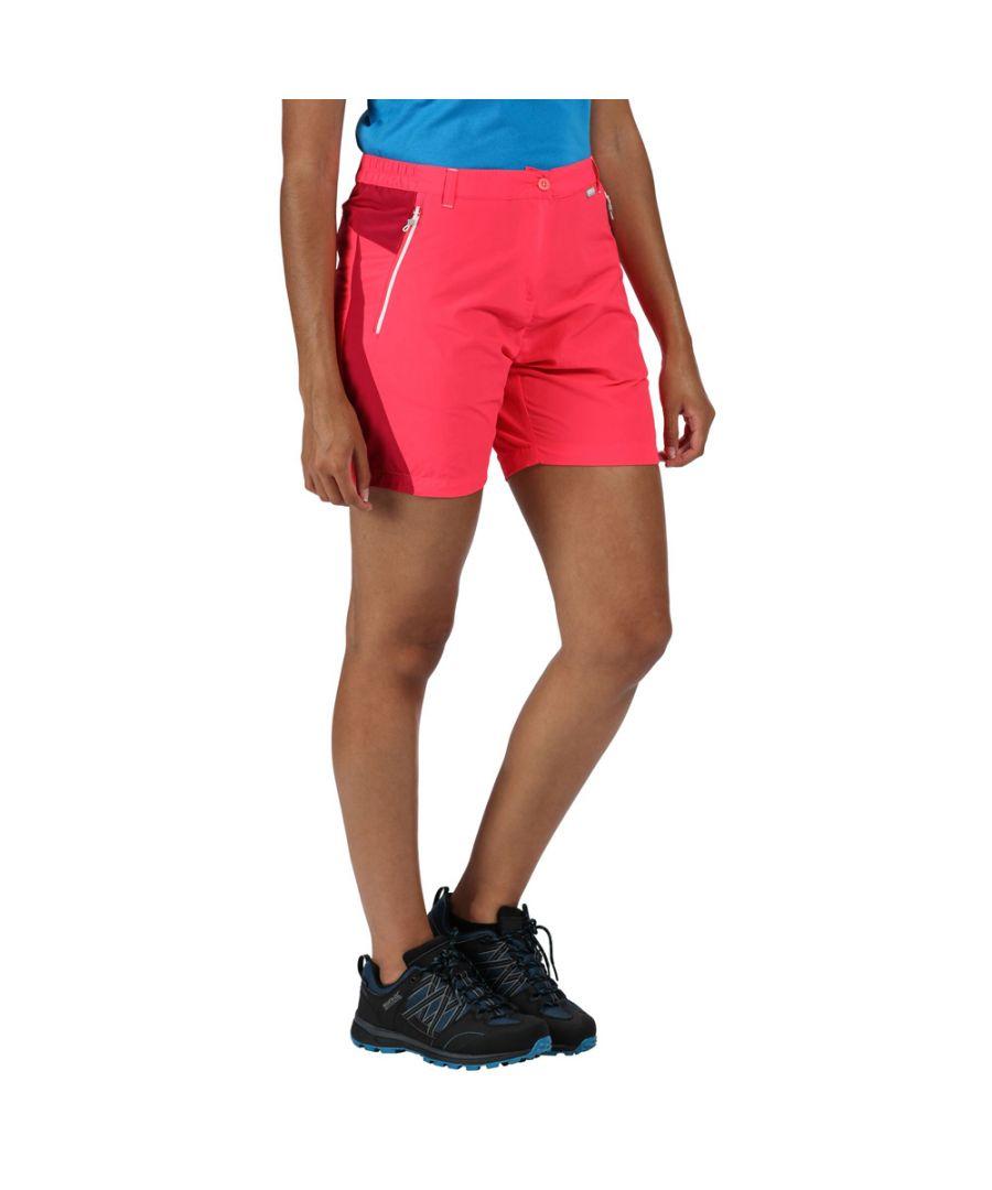 Image for Regatta Womens Sungari II Lightweight Stretchy Summer Shorts