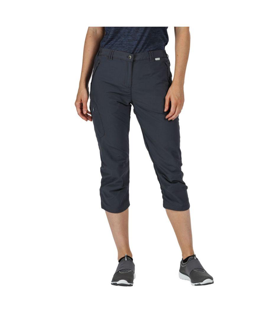Image for Regatta Womens Chaska Capri II Light Durable Summer Shorts