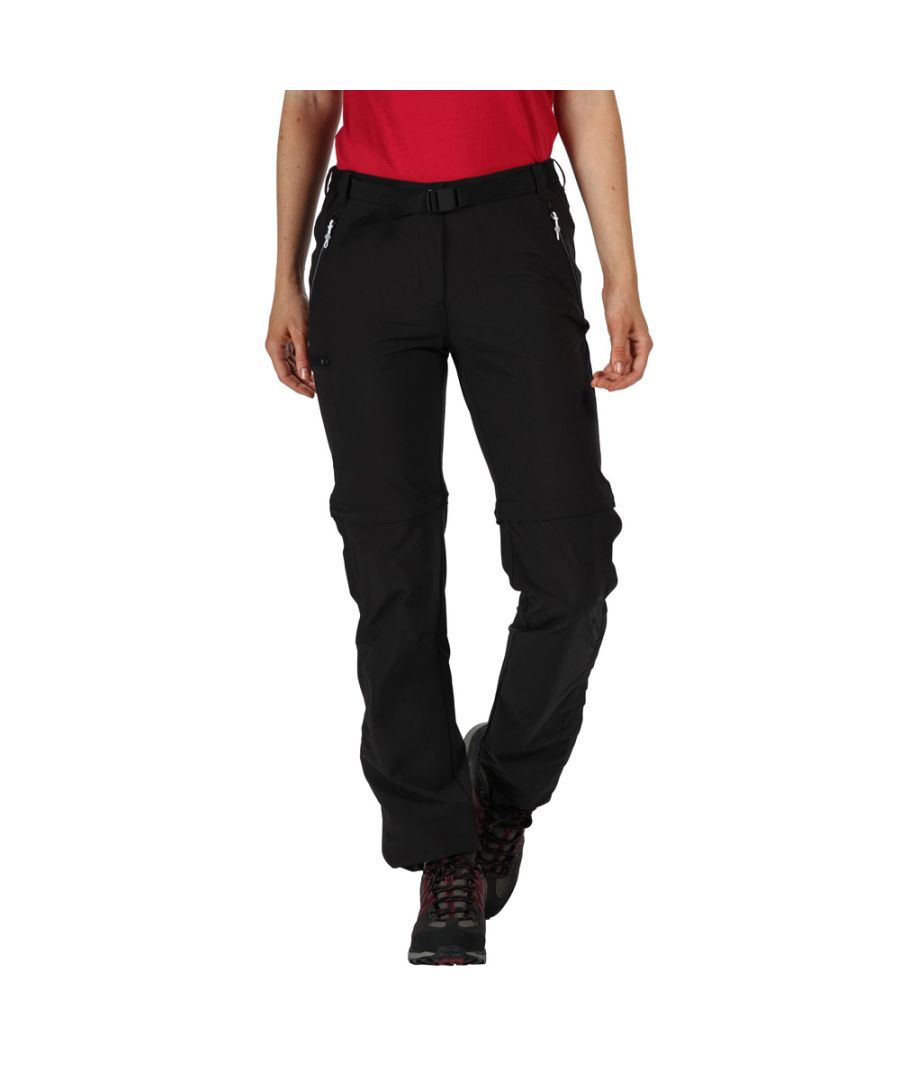 Image for Regatta Womens Xert Zip Off III Stretchy Walking Trousers