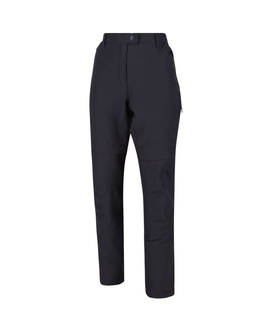 Image for Regatta Womens Highton Zip Off Durable Walking Trousers