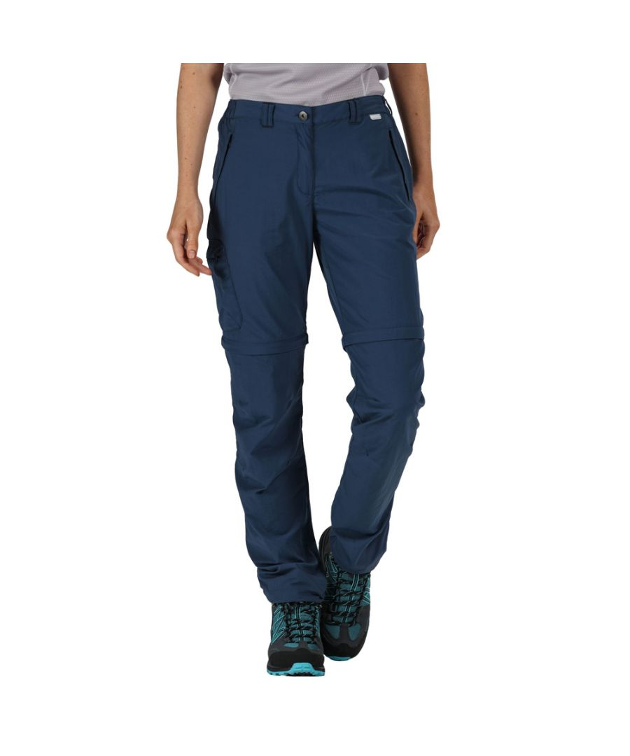 Image for Regatta Womens Chaska Zip Off Durable Walking Trousers
