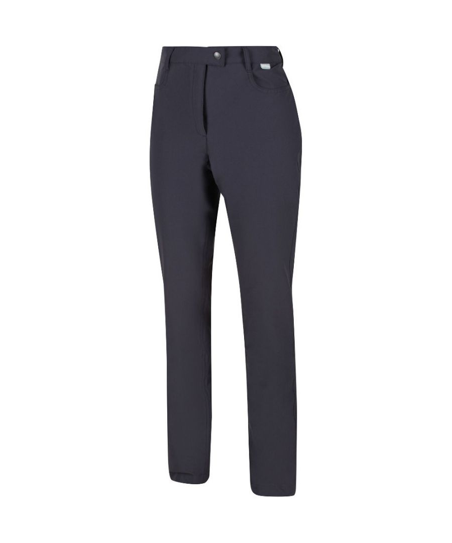 Image for Regatta Womens Highton Stretchy Durable Walking Trousers