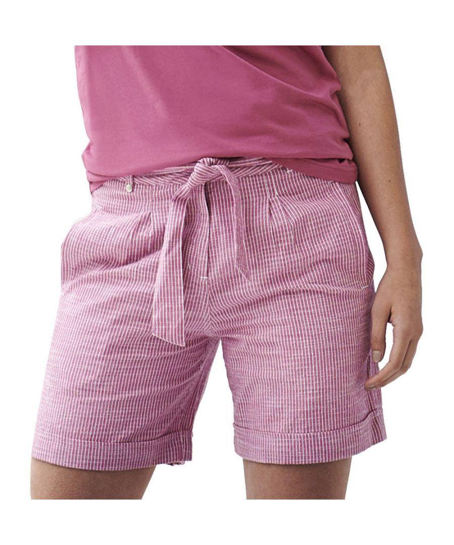 Image for Regatta Womens Samora Coolweave Cotton Soft Summer Shorts