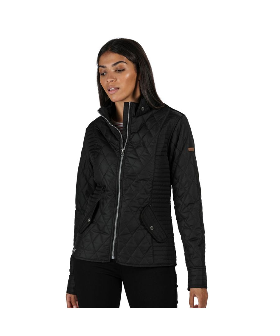 Image for Regatta Womens Carita Water Repellent Insulated Quilted Coat