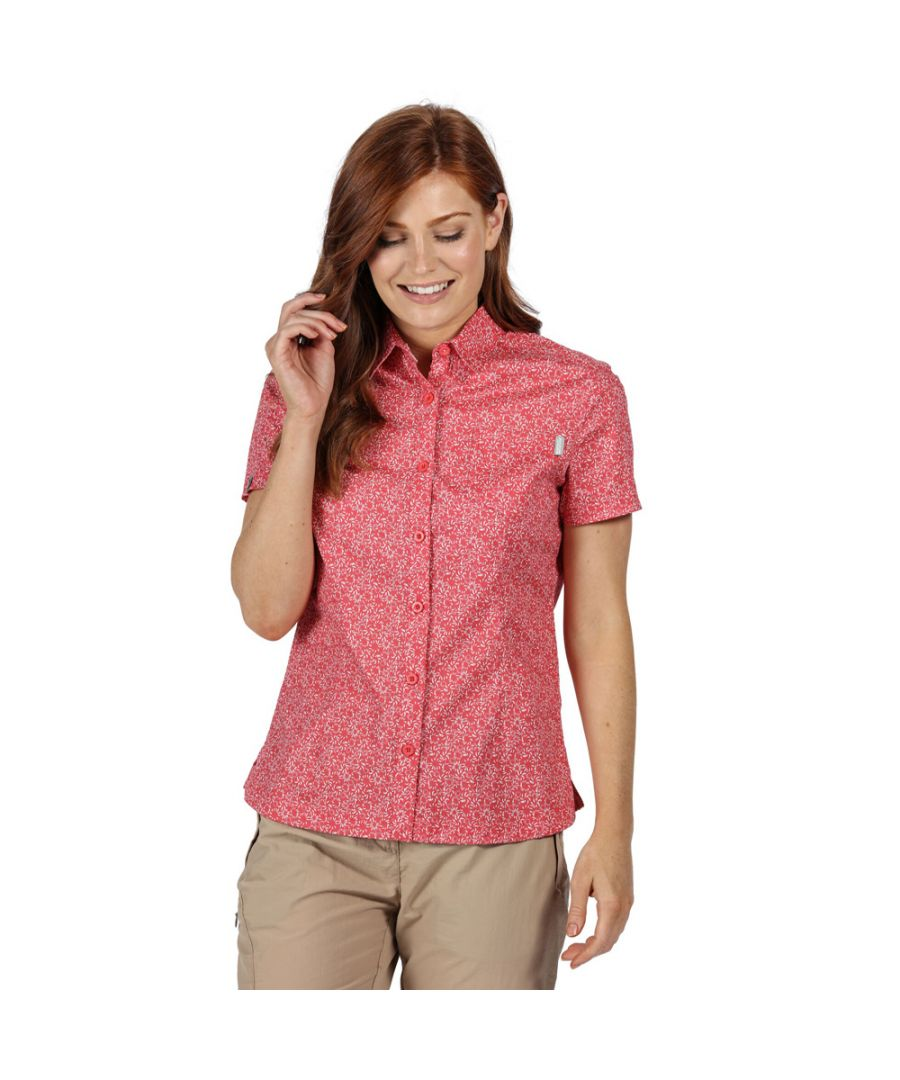 Image for Regatta Womens Honshu IV Coolweave Cotton Short Sleeve Shirt