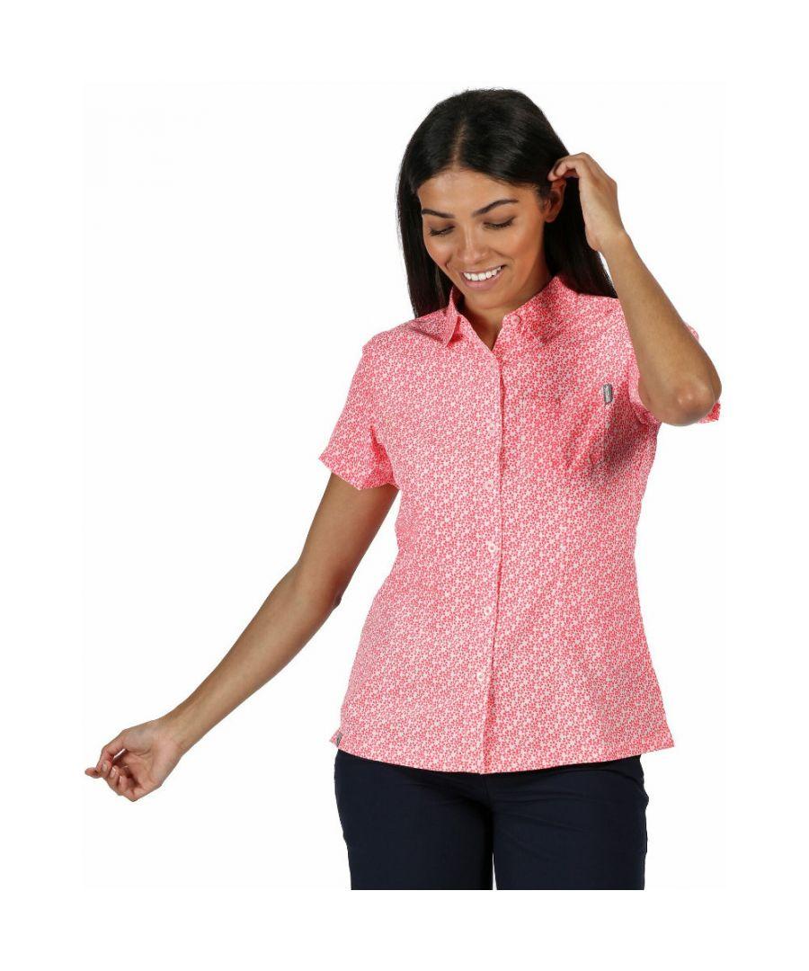 Image for Regatta Womens Mindano V Quick Dry Wicking Long Sleeve Shirt