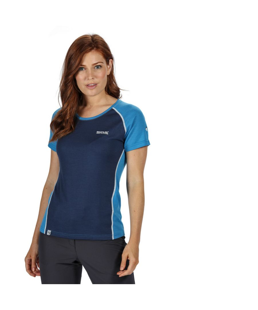 Image for Regatta Womens Tornell II Moisture Control Active T Shirt