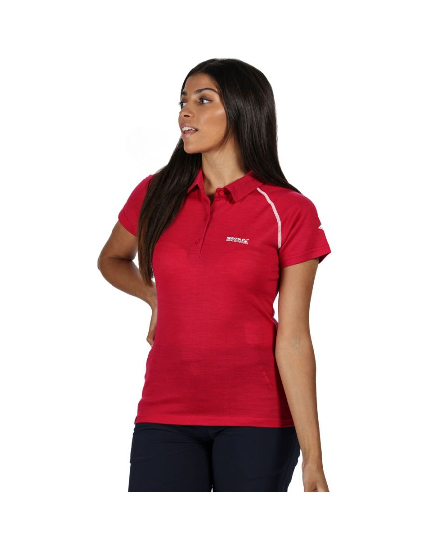 Image for Regatta Womens Kalter Moisture Wicking Active Polo Shirt