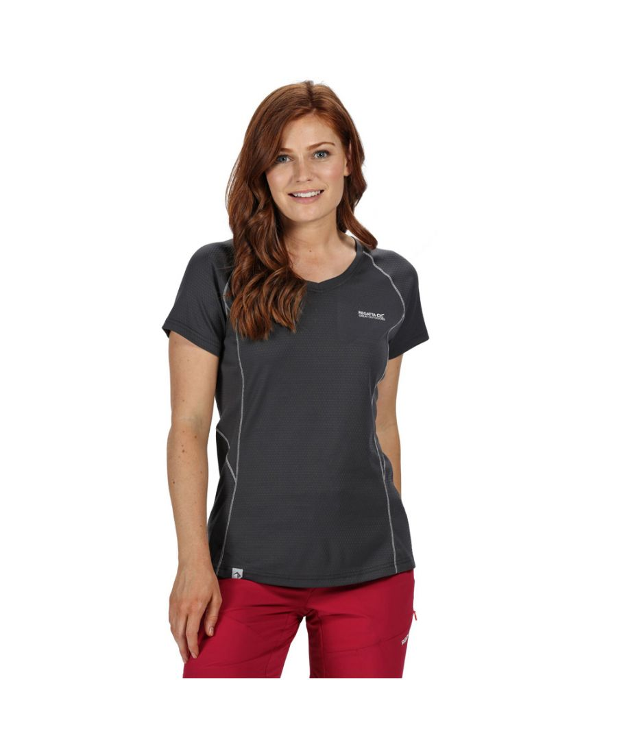 Image for Regatta Womens Devote Coolweave Cotton Wicking T Shirt