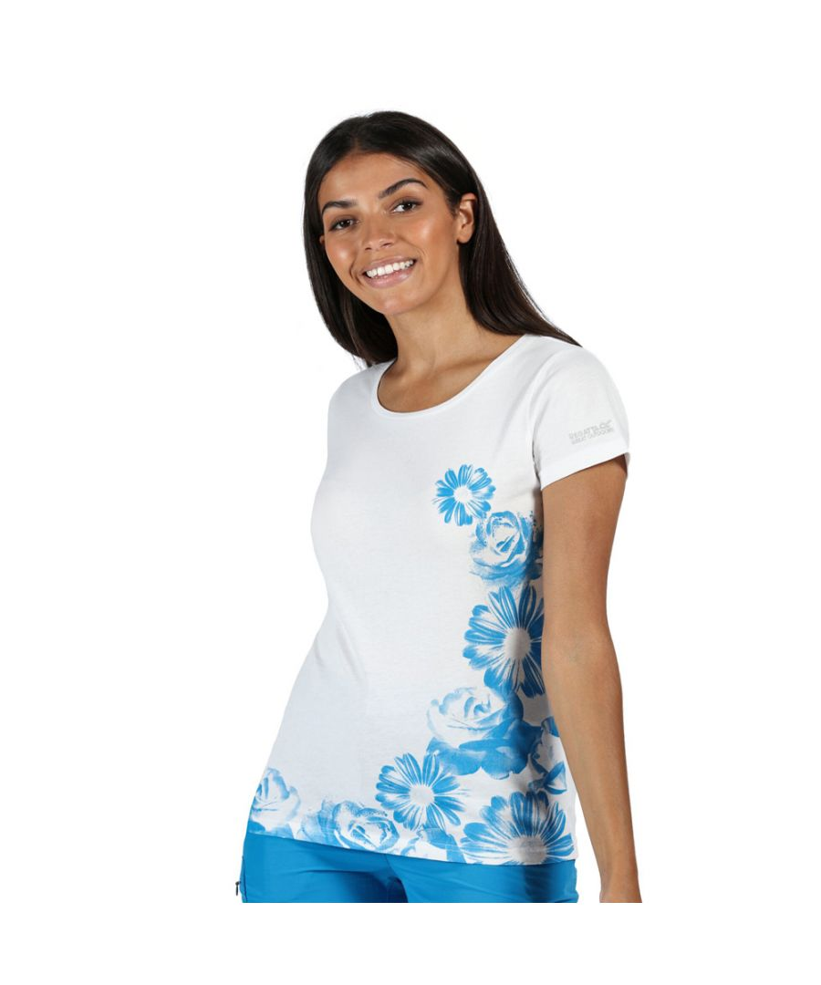 Image for Regatta Womens Breezed Cotton Soft Graphic Jersey T Shirt