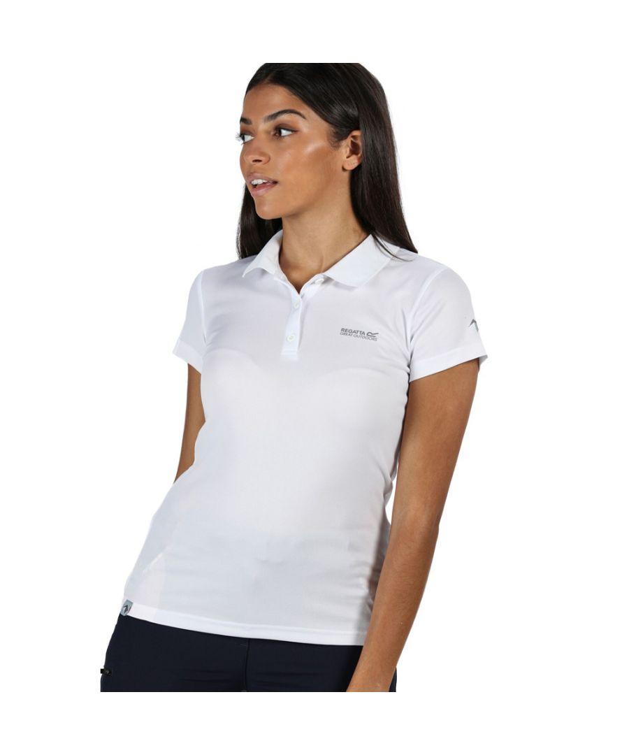 Image for Regatta Womens Maverick V Quick Drying Wicking Polo Shirt