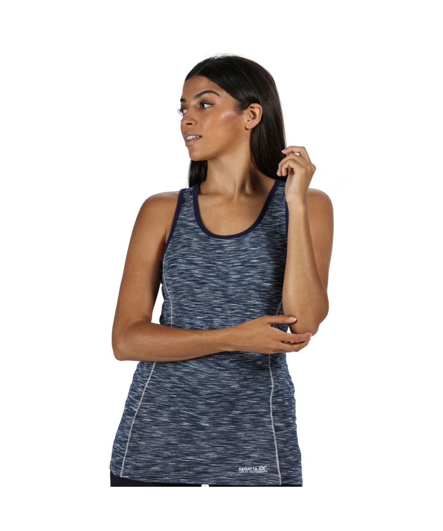 Image for Regatta Womens Vashti III Moisture Wicking Fitness Vest Top