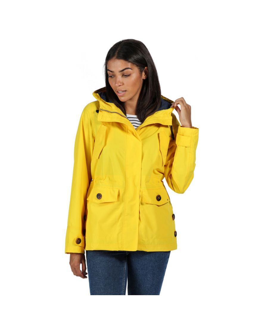 Image for Regatta Womens Ninette Waterproof Breathable Durable Coat