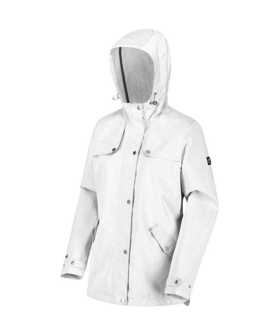 Image for Regatta Womens Bertille Waterproof Breathable Durable Coat