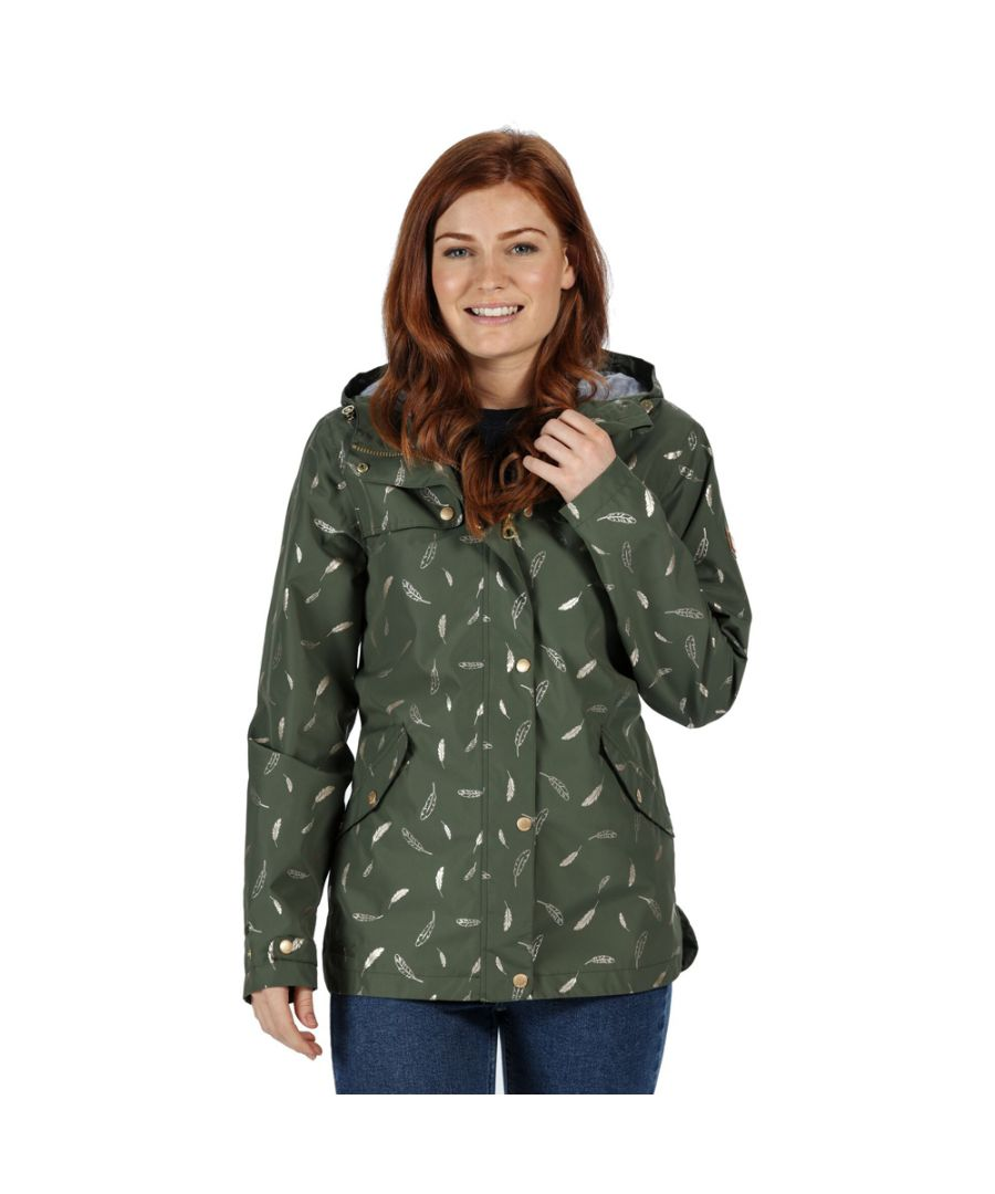 Image for Regatta Womens Bertille Waterproof Breathable Durable Coat