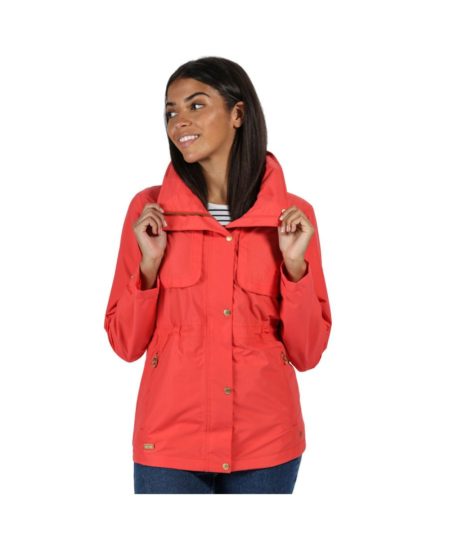 Image for Regatta Womens Narelle Waterproof Breathable Durable Coat
