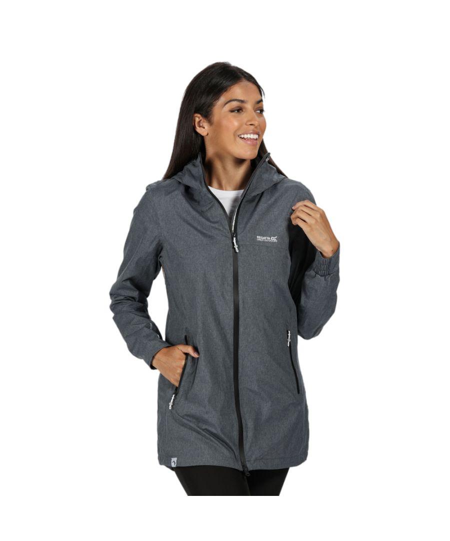 Image for Regatta Womens Alysio Waterproof Breathable Durable Coat