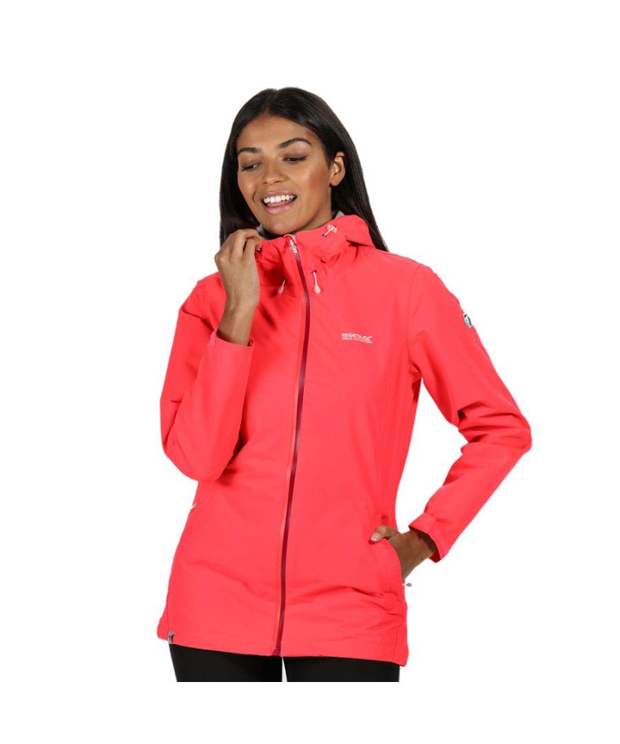 Image for Regatta Womens Hamara III Waterproof Breathable Durable Coat