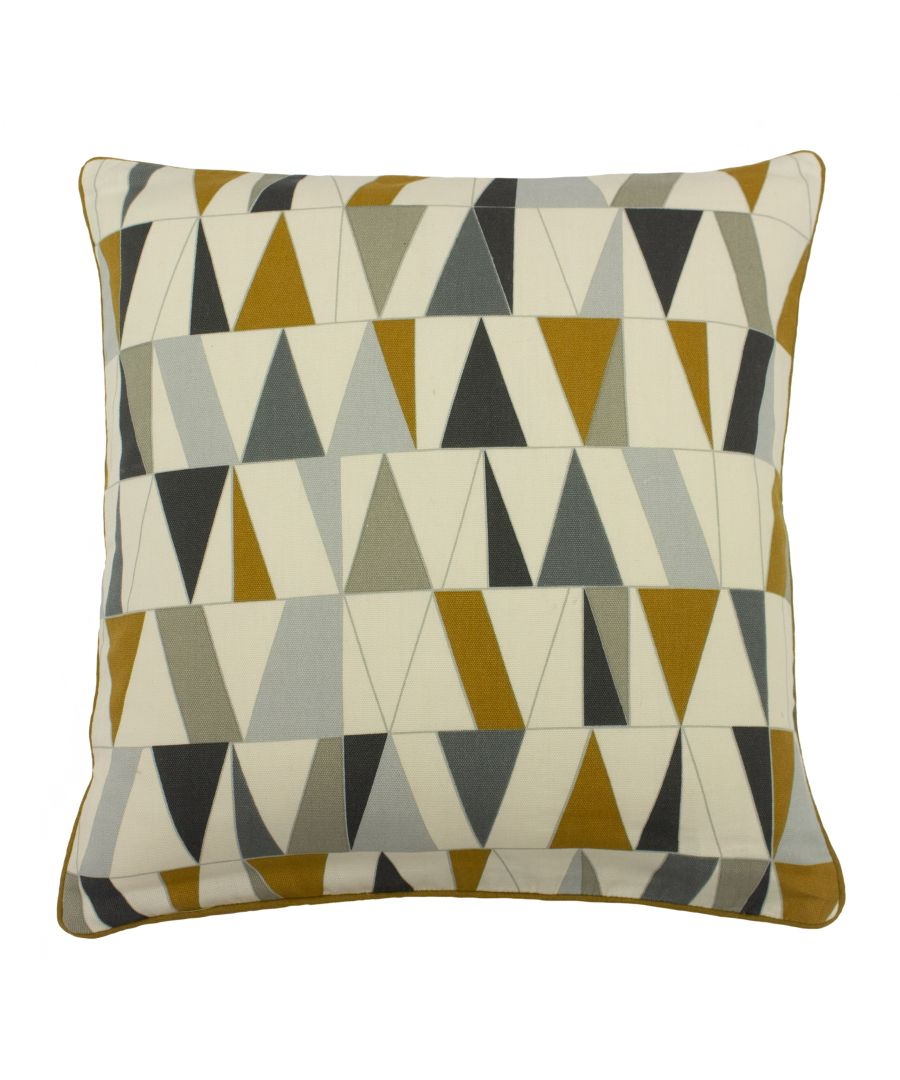 Image for Reno 45X45 Poly Cushion Charc/Gold