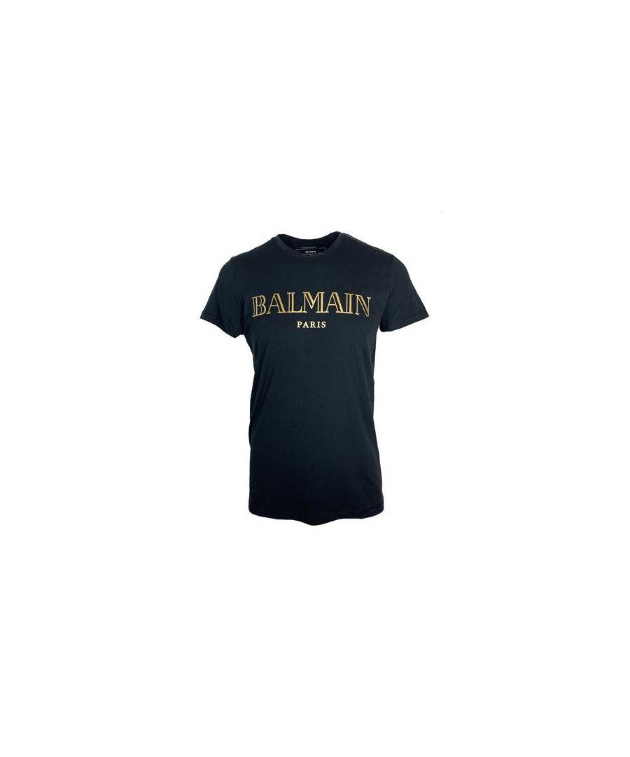 Image for Balmain RH11601 I312 EAD T-Shirt