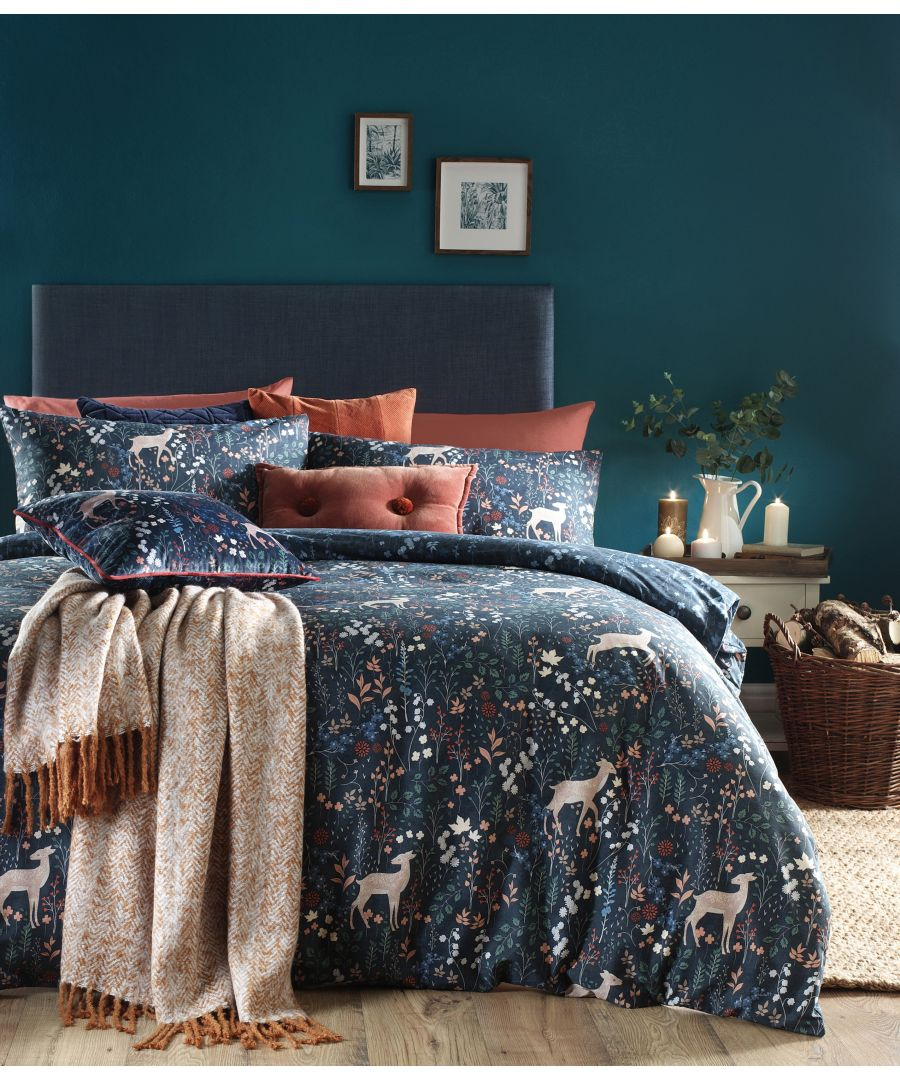 Image for Richmond Duvet Set Midnight