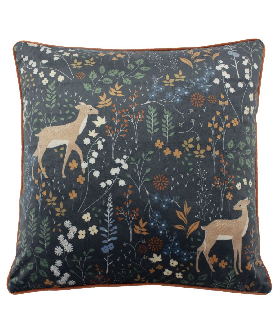 Image for Richmond 50X50 Poly Cushion Midnigh
