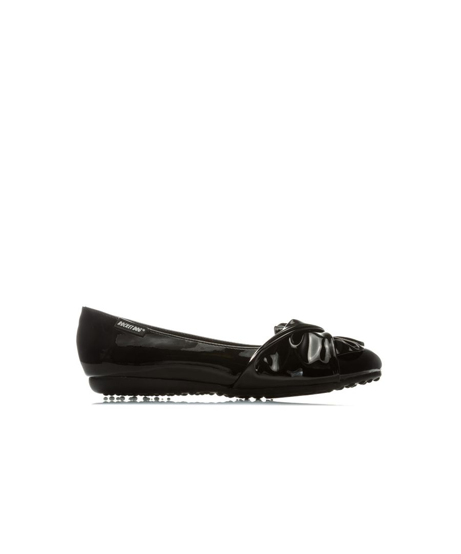 Image for Women's Rocket Dog Risky Liquid Patent Shoes in Black