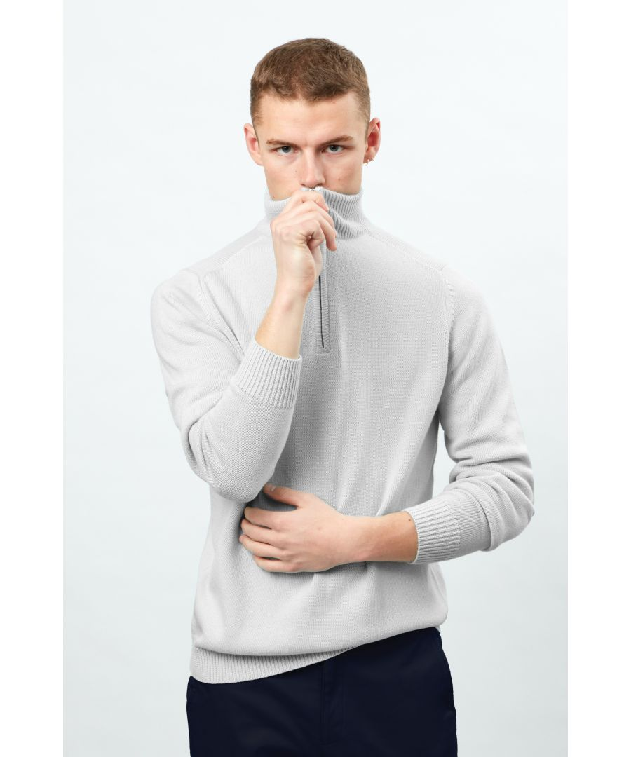 Image for Long Sleeve Half Zip Knit