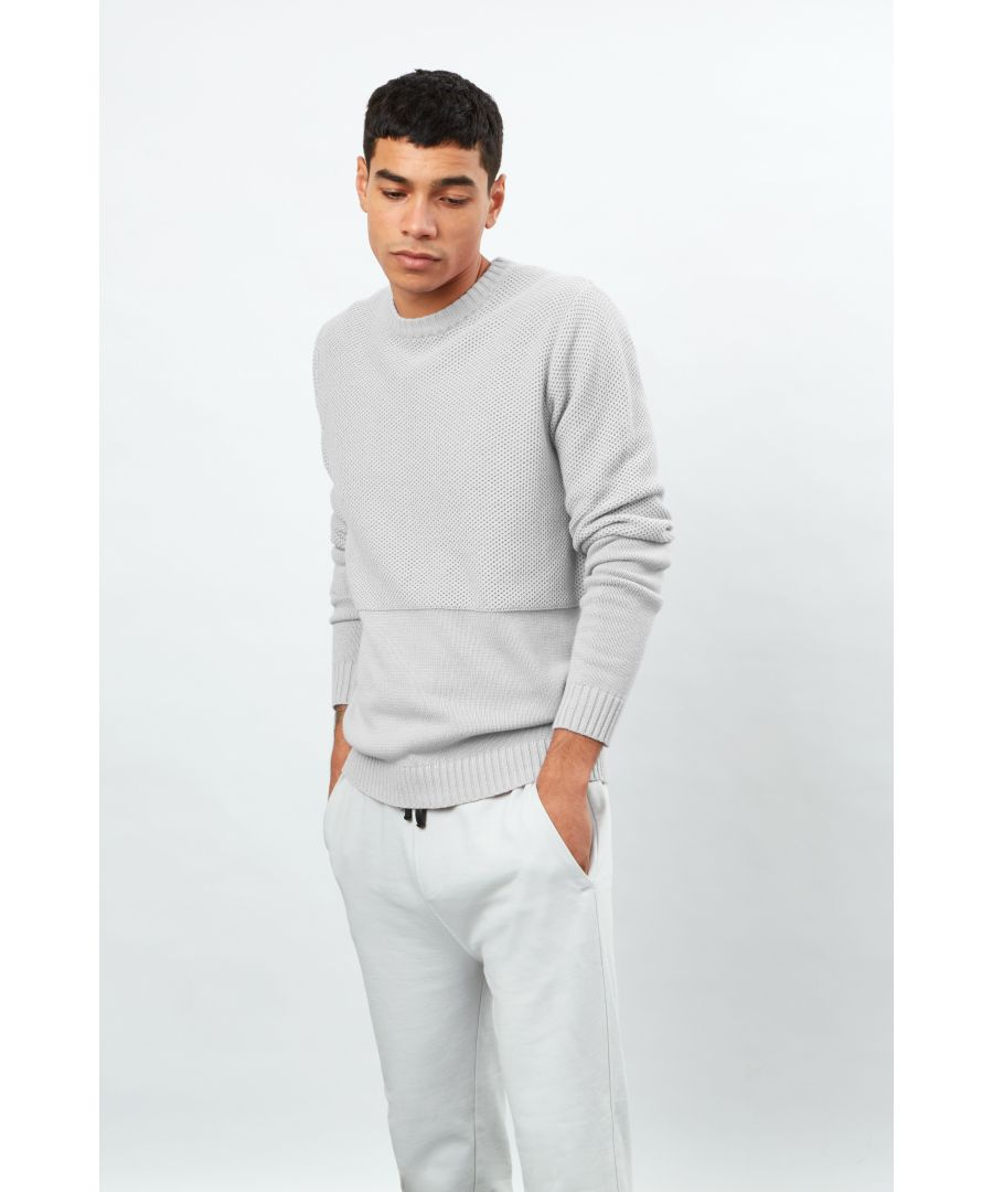 Image for Textured Knit Crew